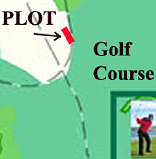 The land is located right on the border with the future Varna golf course